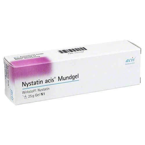 Nystatin acis Mundgel 25 g