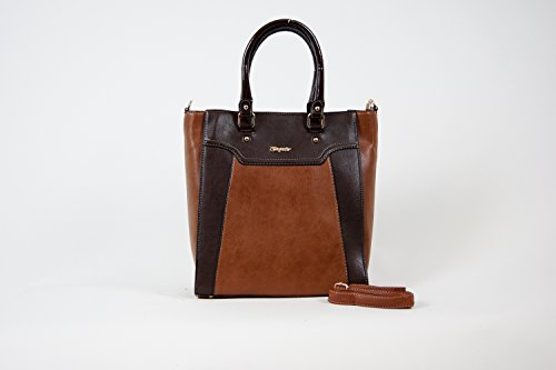 Tasche Shopper Damentasche Handtasche Luxus Taymir 2 Jahre Garantie versch Farbe Braun