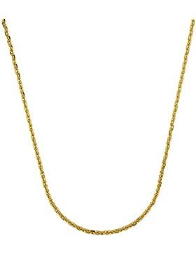1,2 mm 50 cm 333 Gold Ankerkette diamantiert Goldkette 8 kt massiv Gold hochwertige Halskette 2 g