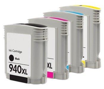 8500 Cyan Magenta Gelb Tinte (Prestige Cartridge HP 940XL 4er Pack Druckerpatronen für HPjet Pro 8000 Wireless 8000AIO 8000W 8500 A809 A909a A909g A909n 8500A e-All-in-One Plus All-in-One 8500AIO 8500W schwarz cyan magenta gelb)