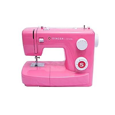 Singer MC Simple 3223 Máquina de coser, Rosa (Pink Edition) de Singer