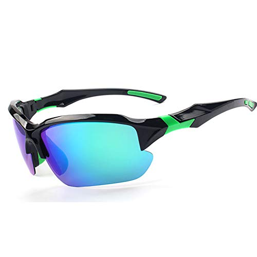 LFF SPORT Polarisierte männer Fahren Sonnenbrille Radsportbrillen Mit Brillenetui PC Rahme Ultra Leicht Fahren Sonnenbrille Outdoor Sportbrille,D