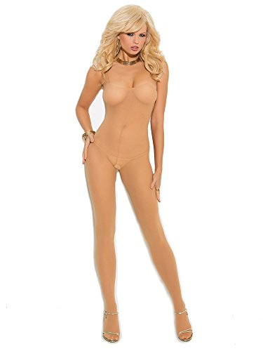 Elegant Moments Bodystocking W/Spaghetti Straps Nude - Elegante Momente Kleider