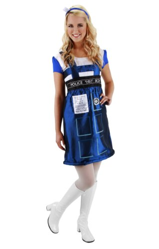 Dr. Who TARDIS Dress Costume Adult Small/Medium (Adult Kostüm Space)