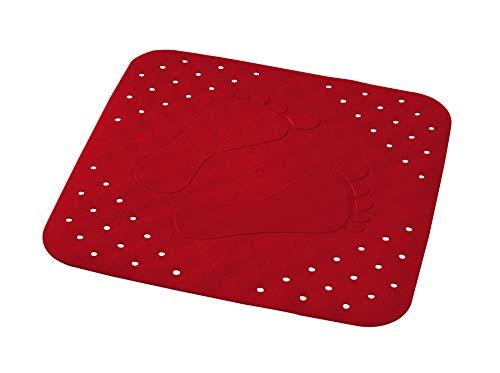 Ridder Duscheinlage Plattfuß rot 54x54 cm
