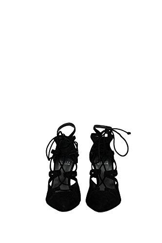 Sandales Stuart Weitzman Femme - (SL84041BLACKSUEDE) EU Noir
