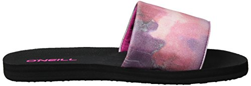 O'Neill Fw Pool Slide, Mules femme Pink (Pink Allover Print W/ BLUE 6)