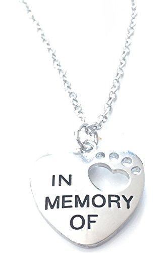 """Gedenktafel für Haustiere Lovely Halskette–""""In Memory Of–Cat–Anhänger Hund–UK Lager"""
