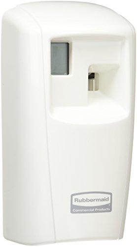 Rubbermaid 1817131 Microburst-Spender 3000 LCD, Plastik, weiß, 10 x 55 x 32 cm