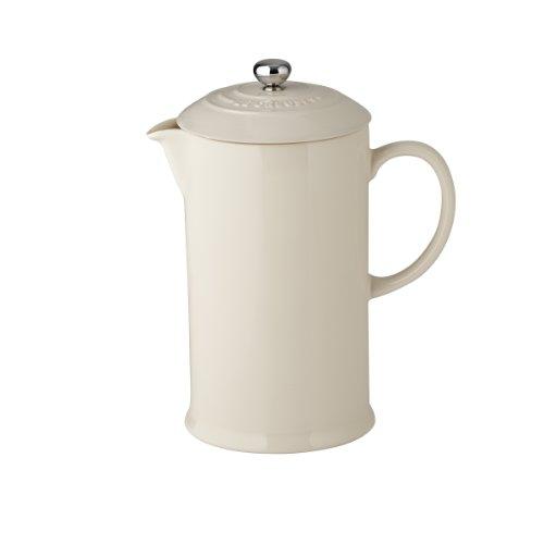 Le Creuset Steinzeug Kaffee-Bereiter, 0,8 L, mandel