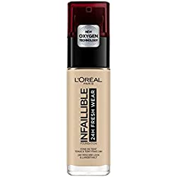 L'Oréal Paris - Fond de Teint Fluide Infaillible 24h Fresh Wear Beige Peau (130) 30ml