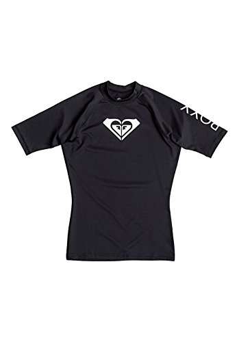 Costumi da bagno Roxy T-shirt maniche corte in Lycra WholeHeartSs nera