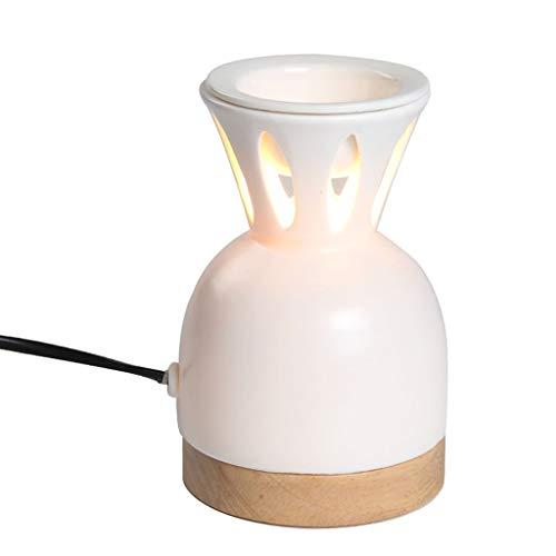 ATR Keramik aromatherapie Lampe Plug-in aromatherapie diffusor Schlafzimmer Wohnzimmer Hause warm weihrauch Brenner ätherisches öl Aroma ofen (Farbe: # 1)