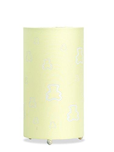 Aratextil Paddington Lampe de Table, Coton, Champagne, 24.5 x 13 cm