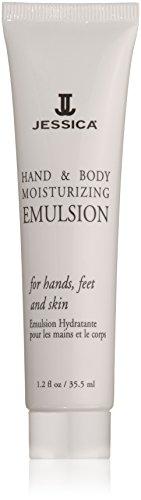 Jessica Cosmetics Hand und Body Moisturizing Emulsion Tube, 35.5 ml
