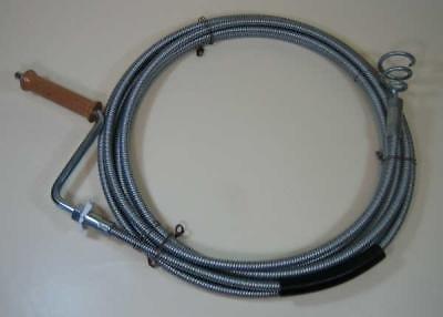Generic YCADE150723-1 <7&1005*1> rbohrer7,5m Tricht 10mm Profi 7,5m Rohrreinigungsspirale Trichterbohrer Profi Rohrr