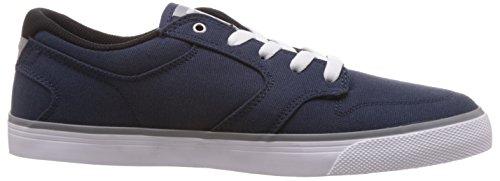 DC Shoes Nyjah Vulc Tx, Baskets mode homme Bleu (Navy/Grey)