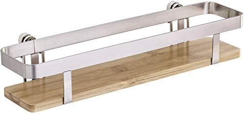 Wenko 54800100 Gewürzregal Premium-Gewürzständer, Metall vernickelt, 30 x 5,5 x 7 cm, silber matt
