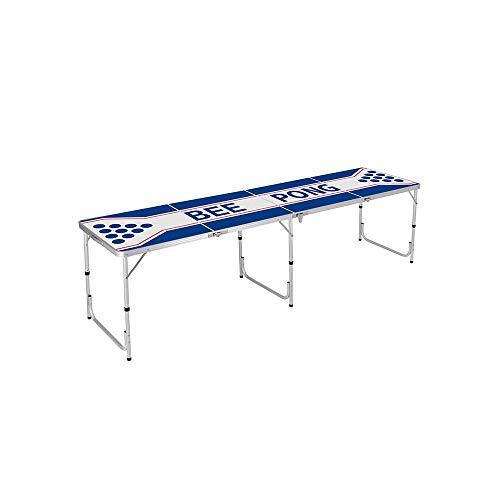 AKJC Table Pliante Campingtable Pliante De Pique-Nique en Plein Air en Alliage D'Aluminium