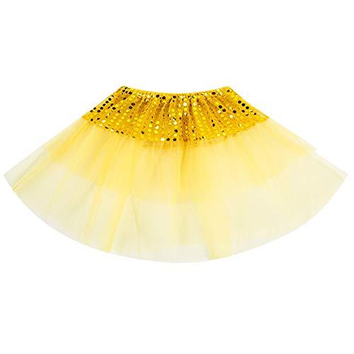 Up Dress Schwangere Kostüm - SUCES Mädchen Ballett Tutu Kinder Tanzabnutzung Prinzessin Dress up Cosplay Karneval Kostüm Party Rock Tüllrock Petticoat Kurze Minirock Festlich Geschenke