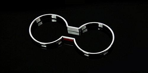ABS Chrom Innen Wasser Cup Glas Kerzenhalter Dekoration Cover Radzierblenden 1