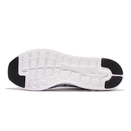 Nike Air Max Modern Flyknit, Chaussures De Gymnastique Grau Hommes (wolf Gris / Noir / Blanc)