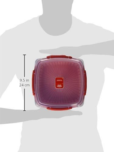 Sistema Behälter für Dampfkochen in Mikrowelle, Mittel, 2,4L - 6
