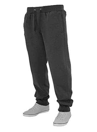 Urban Classics Herren Jogginghose Tackle charcoal S