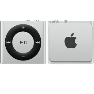 Apple iPod Shuffle 2GB - Silver (MKMG2HN/A)  available at amazon for Rs.4015