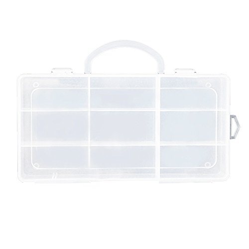 Clear Toy Storage 9 Compartments Carrying Box Accessories For Little Pet Shop