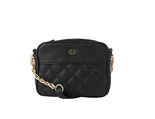GERRY WEBERFlashy Shoulder Bag S - Borsa a tracolla donna Nero (Nero (Black 900))