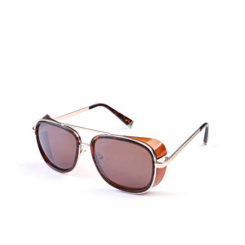 FGRYGF-eyewear Sport-Sonnenbrillen, Vintage Sonnenbrillen, Sun Glasses Iron Man 3 Actor Wind Sunglasses For Men Women Lunette De Soleil Feminino Gothic Steampunk SI21 1