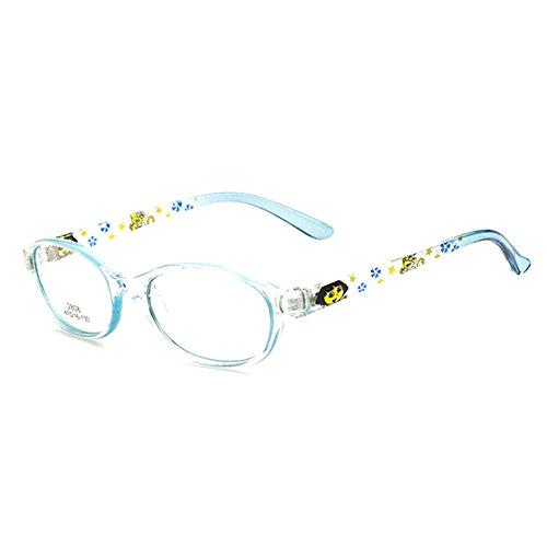 Juleya Juleya Kinder Gläser Rahmen - Kinder Brillen Clear Lens Retro Reading Eyewear für Mädchen Jungen 112206