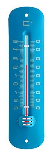 TFA 12.2051.06 - Termómetro Interior Exterior, metálico