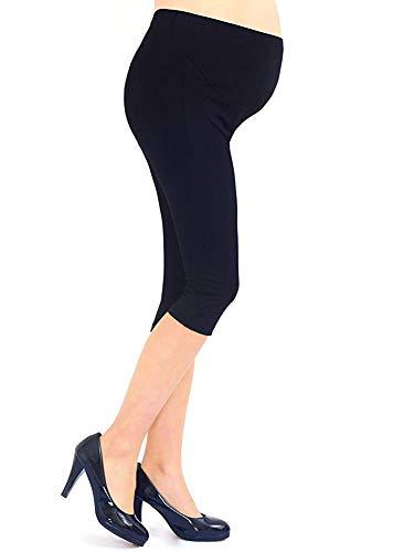1de8d12a1 Liang Rou Spandex Soporte del vientre Maternidad Ajustable Cinturilla  Leggings Recortados Color Negro talla única