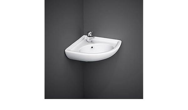 Lavandini Bagno Salvaspazio : Lavabo sospeso ad angolo 44x36x19 5 lavandino per bagno salvaspazio