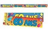 Festone festa di compleanno (60 anni di età
