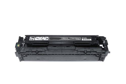 Preisvergleich Produktbild Toner kompatibel zu HP Color Laser Jet CP 1210 1213 1214 1215 1216 1217 1510 1513 1514 1515 1516 1517 1518 1519, CM 1312 1512 N CI CB EB EI WB WI A H W NI NFI MFP, 1x black / schwarz, 2.200 Seiten, ersetzt 40A, CB540A, 125A