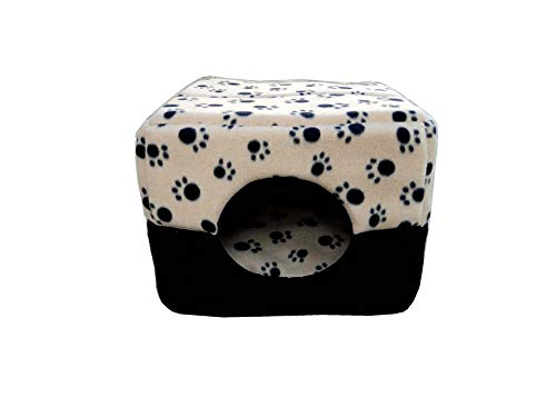Segle Suave cálido 2 en 1 Mascota Nido Antideslizante Perro Gato Cama...