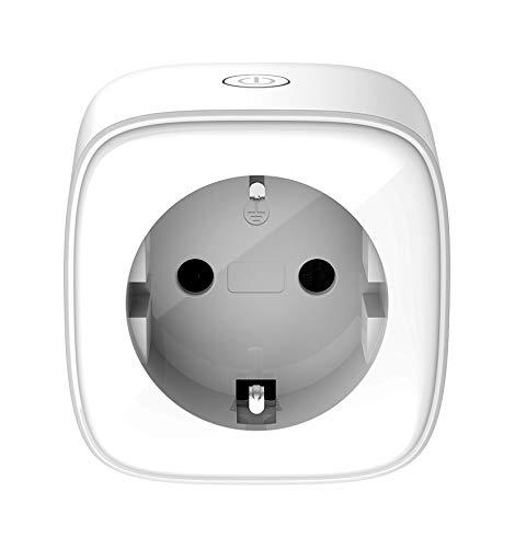 D-Link DSP-W118 mydlink WLAN Smart Steckdose/Plug (Überwachung von Elektrogeräten via App Steuerung, funktioniert mit Google Assistant/Google Home und Amazon Alexa)