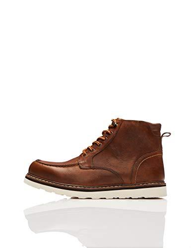 find. Leather Apron Chukka Boots, Braun Tan), 43 EU -