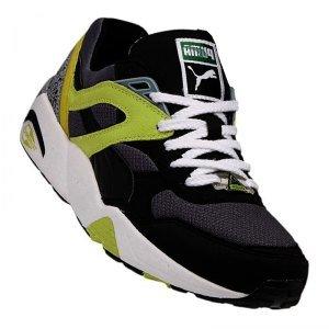 Puma Trinomic R698 Sneaker Schuhe 357837 04 schwarz / gelb, Schuhgröße:EUR 41