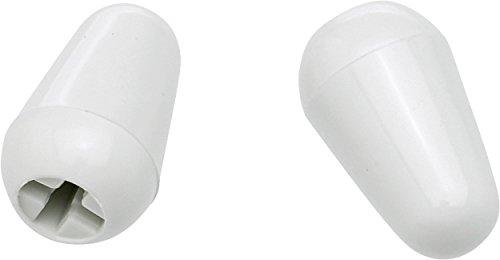 Fender 099-4940-000 Switch Tips White - Schalterknöpfe weiß