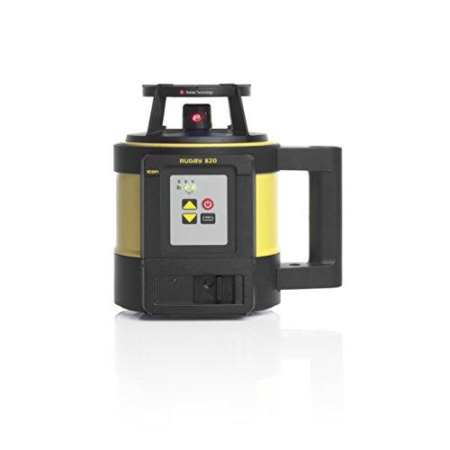 Leica–Rotation Laser-Rugby 820mit Li-Ion Akku, Ladegerät und rod-eye 180Digital