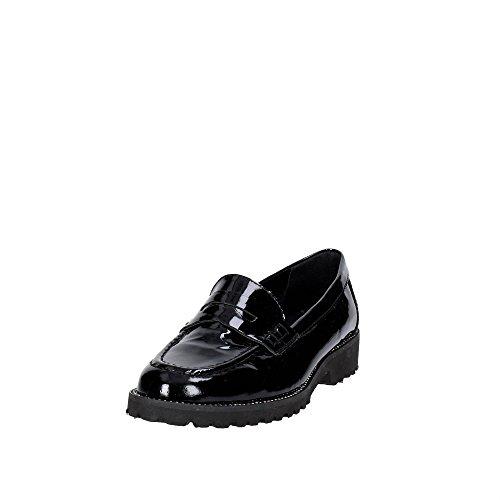 Cinzia Soft CAMP.15 Mocassin Femme Noir