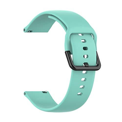Armband für Samsung Galaxy Active R500, Webla 20 mm weiches Silikon-Uhrenarmband Ersatzband Schnellverschluss einstellbar für Samsung Galaxy Watch Active R500 104 + 87 mm - Bänder Herren-erweiterbar-uhr