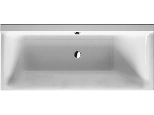 Duravit Badewanne P3 Comforts 1600x700mm Einbauversion, RS rechts, weiß, 700372000000000