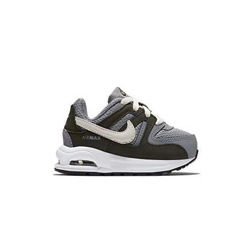 Nike Unisex Baby Air Max Command Flex (td) Hausschuhe, Mehrfarbig (Cool Grey/Light Bone/Sequoia/White 006), 21 EU