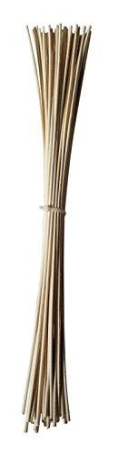 Peddigrohr staken 50 stück, 45 cm lang 2,8 mm durchmesser