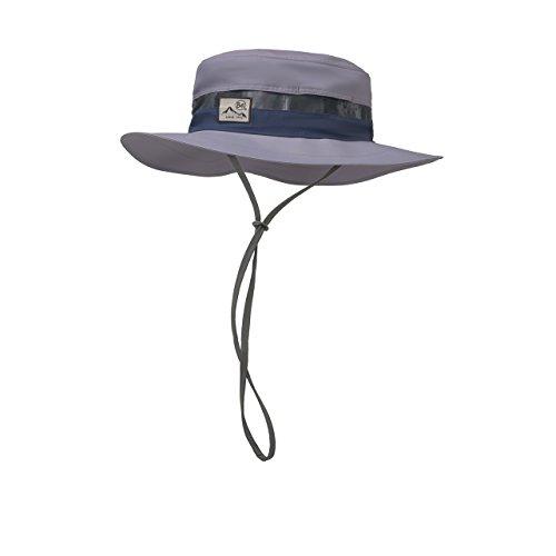 Buff Booney Hat–Hut, Unisex Erwachsene, Grau (Inked ()